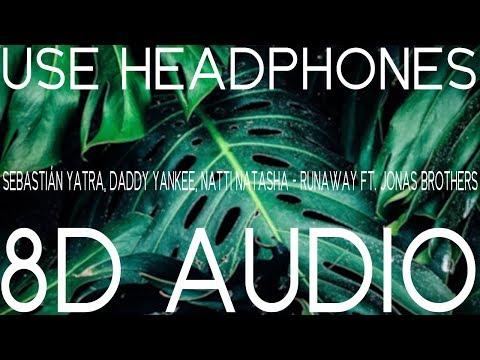 Sebastián Yatra, Daddy Yankee, Natti Natasha - Runaway (8D AUDIO) ft