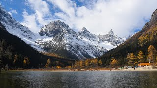 preview picture of video '川西行 四川航拍延时摄影 West Sichuan China Road Trip Timelapse'