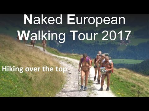 Naked European Walking Tour  30 july 2017