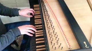 Paul Cienniwa plays Handel: Passacaille (G minor)