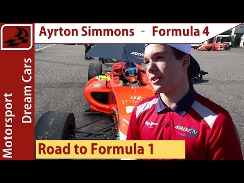 How to become a Formula 4 driver with Ayrton Simmons