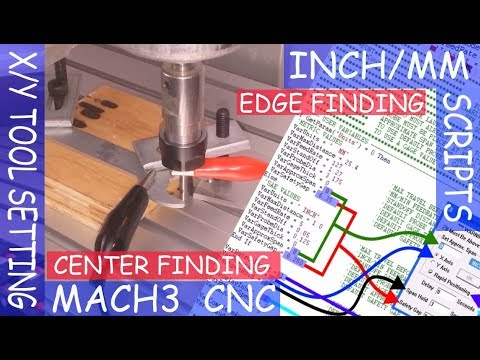 CNC/MACH3 - Tool Setting Touch Plate | Auto Tool Zero (Z