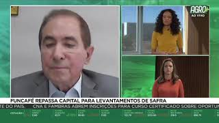 Presidente do CNC fala sobre levantamentos de safra no Agro+ da BAND