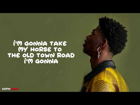 Lil Nas X Ft. Billy Ray Cyrus - Old Town Road ( Lyrics Video )