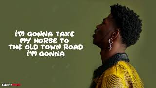 Lil Nas X Ft. Billy Ray Cyrus   Old Town Road ( Lyrics Video )