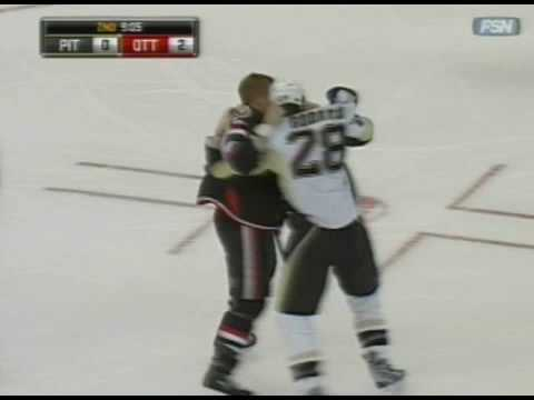 Eric Godard vs Chris Neil