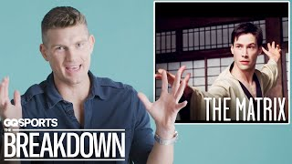 UFC Fighter Stephen Thompson Breaks Down Martial Arts Scenes from Movies | GQ Sports