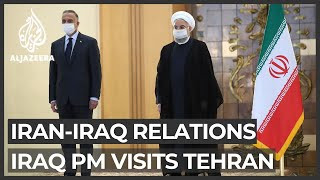 Iraq PM vows he 'won't allow threats' to Iran from Iraqi soil