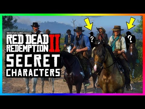 Most Players NEVER Meet These Secret Characters In Red Dead Redemption 2! (RDR2)