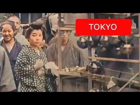 [60 fps] Views of Tokyo, Japan, 1913-1915 - YouTube