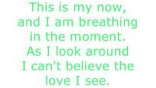 *Jordin Sparks - This Is My Now* Lyrics