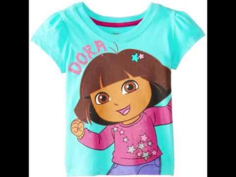 Dora La Exploradora Camisetas, Dora La Exploradora Ropa