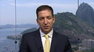 """Glenn Greenwald on """"Submissive"""" Media's Drumbeat for War and Anti-Muslim Scapegoating"""