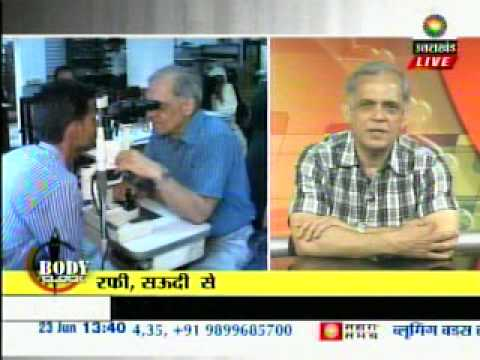 Dr. N K Misra Interview, Contact Lenses