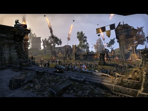 The Elder Scrolls Online Out on April 4, 2014, on PC and Mac, June