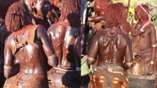 13 Etiopie -  rituály kmene Hamarů