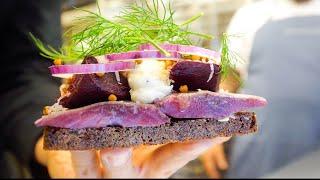 Denmark Food - BEST SMØRREBRØD + Lunch at 800 Year Old Castle!