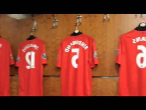Manchester United Dressing Room Tour