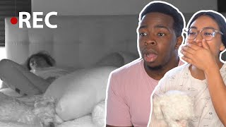 Couples Watch Themselves Sleep For The First Time thumbnail