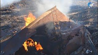 В дачном массиве в Панковке сгорело несколько домов