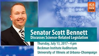 Thumbnail of Illinois Senator Scott Bennett Discusses Science-Related Legislation video