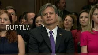 LIVE: Trump's FBI director nominee testifies before Senate Judiciary Committee