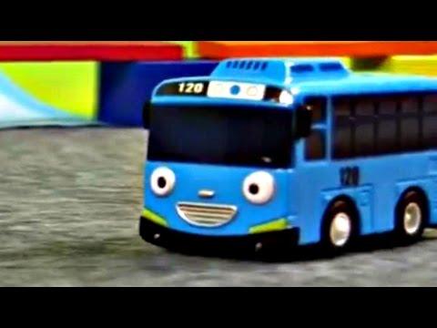 Tayo toys Cartoon - Kinderfilm - Die kleinen Busse - An der Bahnschranke