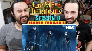 GAME OF THRONES | SEASON 8 | Official TEASE: Crypts of Winterfell - REACTION!!!