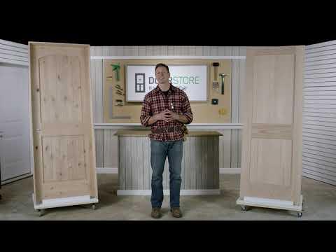 MASTERCRAFT Exterior Doors > Exterior Doors > Door System vs Door Only