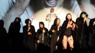 Squeezit the Moocher w/ Richard Elfman (Devil) live Forbidden Zone - Cell 63 Shadowcast
