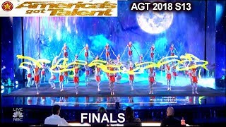 Zurcaroh Acrobatic Group THE CROWD WENT WILD JAW DROPPING | America's Got Talent 2018 Finale AGT