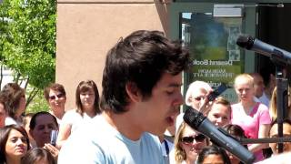 Crush by David Archuleta - Orem, UT 6-8-10