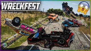 EVEN MORE MASSIVE WRECKS! [Farmlands Stage 2] Wreckfest
