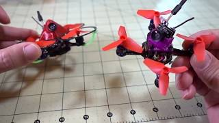 Задорный МанЁвренный микро FPV дрон / BeeBee-66 1S. Квадрокоптер FPV