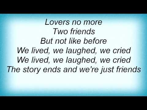 Billie Holiday - Just Friends Lyrics_1