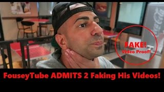 FouseyTube Admits He Did FAKE PRANKS!