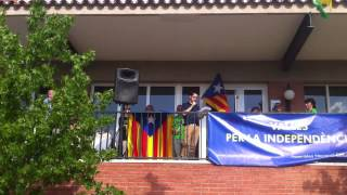 preview picture of video 'Discurs pro independència de l'alcalde de Viladecavalls Carles Rodríguez Herencia'