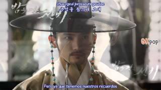 G.NA- Don't Cry ( sub. español - hangul - roma) (Scholar Who Walks The Night OST) HD