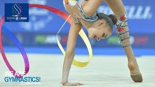 2017 Rhythmic Worlds, Pesaro (ITA) - Clubs+Ribbon Finals, Highlights - We Are Gymnastics !