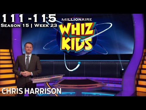 "Who Wants To Be A Millionaire? #23 | Season 15 | Episode 111-115 ""WHIZ KIDS WEEK"""