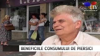 Beneficiile consumului de piersici - Litoral TV
