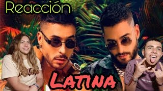 Reaccion: Reykon, Maluma   Latina