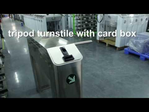 ZKTeco Card Box integration for Tripod Turnstile