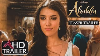 Aladdin(2019) - TEASER TRAILER #2 - Mena Massoud, Naomi Scott Film  (CONCEPT)