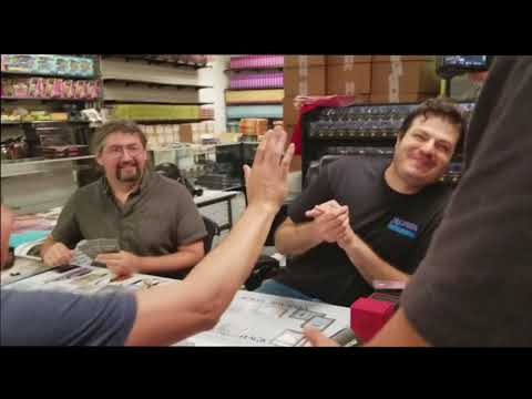 Rudy plays Magic the Gathering!  No REALLY!