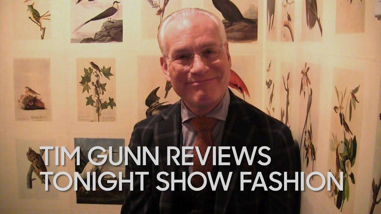 Tim Gunn Reviews Tonight Show Fashion thumbnail