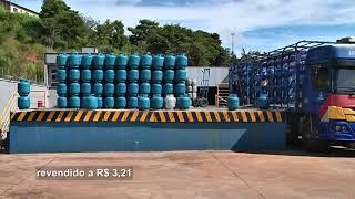 Com novo aumento, preço do botijão de gás encosta em 100 reais em Patos de Minas