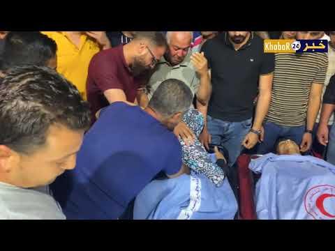 بالفيديو : ثلاثة شهداء وإصابة حرجة برصاص الاحتلال في جنين