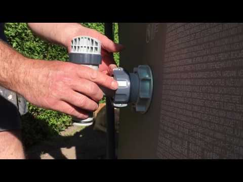 Intex pool upgrade inlet outlet valve