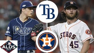 Tampa Bay Rays vs. Houston Astros Highlights | ALDS Game 5 (2019)